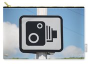 Speed Camera Sign Folkestone Carry-all Pouch
