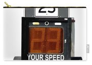 Speed Limit Monitor Carry-all Pouch