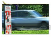 Speeding Gas Prices Carry-all Pouch