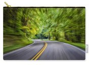 Speeding Through The Forest E42 Carry-all Pouch