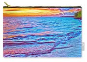 Spencer Beach Sunset Carry-all Pouch