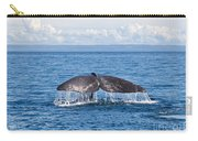 Sperm Whale Tail  Physeter Catodon Carry-all Pouch