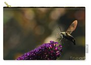 Sphinx Moth On Butterfly Bush Carry-all Pouch