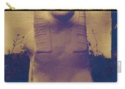 Sphinx Statue Blue Yellow And Lavender Usa Carry-all Pouch