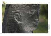 Sphinx Statue Head Grey Usa Carry-all Pouch