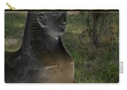 Sphinx Statue Three Quarter Profile Solar Usa Carry-all Pouch