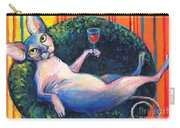 Sphynx Cat Relaxing Carry-all Pouch
