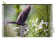 Spicebrush Swallowtail Butterfly Carry-all Pouch