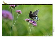Spicebush Swallowtail Butterfly In Garden Carry-all Pouch
