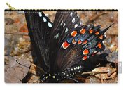 Spicebush Swallowtail Butterfly Preflight Carry-all Pouch