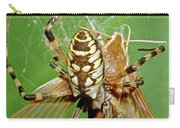 Spider Eating Moth Carry-all Pouch
