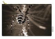 Spider In Waiting Carry-all Pouch