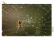 Spider In Web 5 Carry-all Pouch