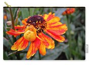 Spider On Helenium Carry-all Pouch