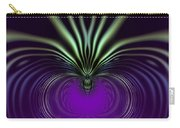Spider Orchid Mandala Carry-all Pouch