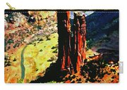 Spider Rock Canyon Dechelly  Carry-all Pouch