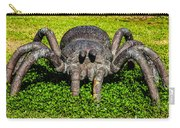 Spider Sculpture Carry-all Pouch