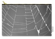 Spiderweb Bw Carry-all Pouch