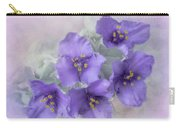 Spiderwort Cluster Carry-all Pouch