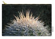 Spike Head In Silver Carry-all Pouch