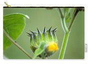 Spiky Green Wild Flowers Carry-all Pouch