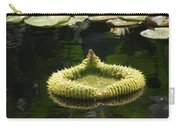 Spiky Lily Pad Carry-all Pouch