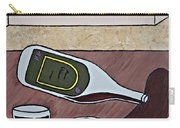 Essence Of Home - Spilt Wine Bottle Carry-all Pouch