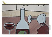 Essence Of Home - Spilt Wine Carry-all Pouch