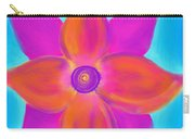 Spiral Flower Carry-all Pouch