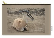 Spiral Horned Antelope Carry-all Pouch
