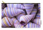 Spiral Sea Shells Carry-all Pouch