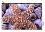 Spiral Shells And Starfish Carry-all Pouch
