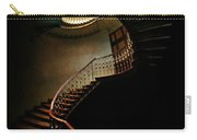 Spiral Staircase In Green And Red Carry-all Pouch