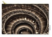 Spiral Staircase No1 Sepia Carry-all Pouch