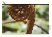Spiral Tree Fern Carry-all Pouch