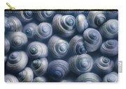 Spirals Blue Carry-all Pouch
