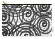 Spirals Of Love Carry-all Pouch by Daina White