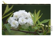 Spirea Blossom Carry-all Pouch