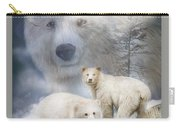 Spirit Of The White Bears Carry-all Pouch