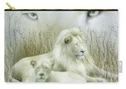 Spirit Of The White Lions Carry-all Pouch