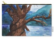 Spirit Tree Carry-all Pouch by Ellen Levinson