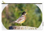 Spirited Robin Carry-all Pouch