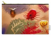 Spirits And Roses Carry-all Pouch