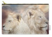Spirits Of Light Carry-all Pouch by Carol Cavalaris