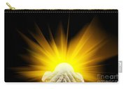 Spiritual Light In Cupped Hands Carry-all Pouch