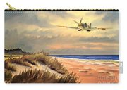 Spitfire Mk9 - Over South Coast England Carry-all Pouch