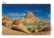 Spitzkoppe Mountain Landscape Of Granite Rocks Namibia Carry-all Pouch