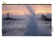Splashy Sunrise Carry-all Pouch