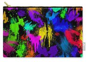 Splattered One Carry-all Pouch