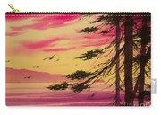 Splendid Sunset Bay Carry-all Pouch